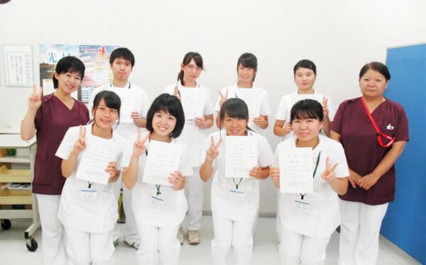 ふれあい看護体験のプログラム